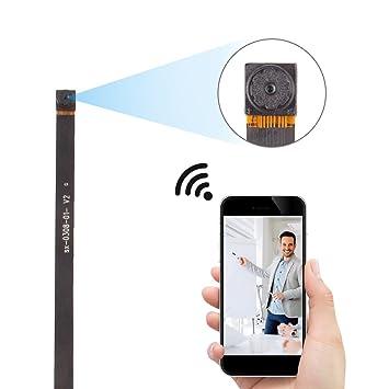 Amazon.com : FREDI Wifi Small Camera 720P Wifi Wireless Nanny Cam ...