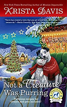 Not a Creature Was Purring (A Paws & Claws Mystery) by [Davis, Krista]