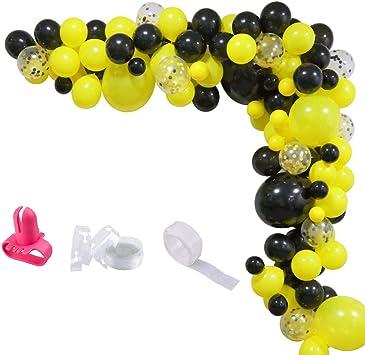 Amazon.com: Bumblebee - Guirnalda de globos de fiesta de ...