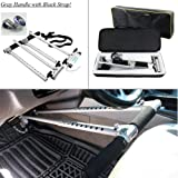 Modini- Portable Hand Controls for Automatic Cars Disability Driving Aids Handicap Hand Control for Disabled Drivers - Gray Handle with Black Strap