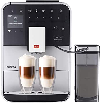 Melitta F850 101 Barista Ts Smart Coffee Machine Plastic 1450 W 18 Liters Silver