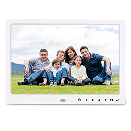 Amazon.com : Digital Photo Frame, RegeMoudal 12 Inch Picture Frame ...