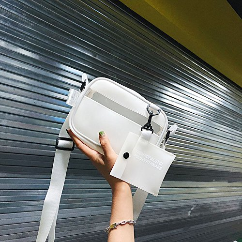 Blanc épaule Package Sac Messenger Bag Jelly carré Petit Une WSLMHH Fille nbsp;Wild été 8fqw7WXpx