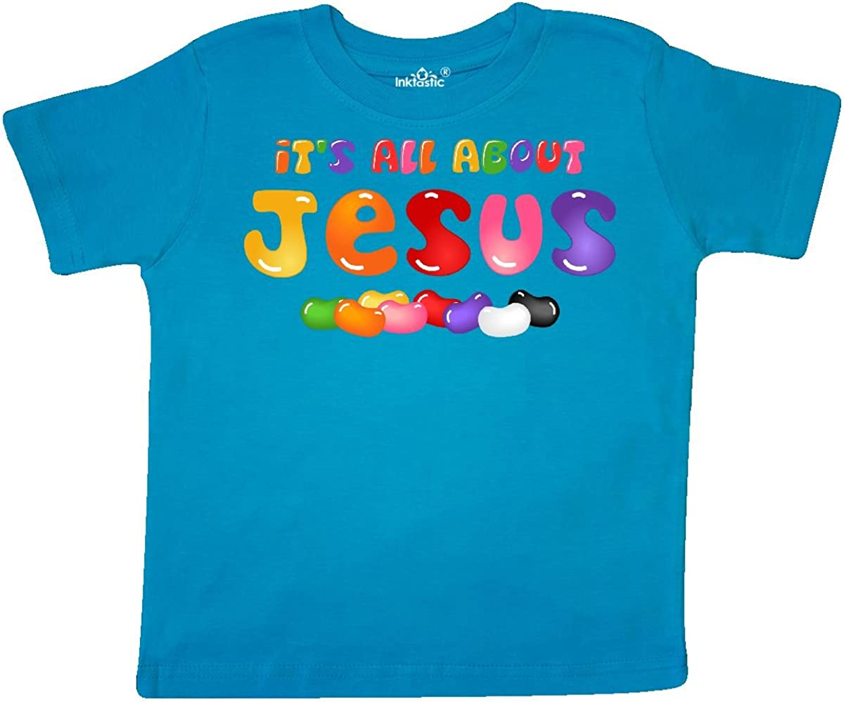 inktastic Jelly Bean Jesus Toddler T-Shirt