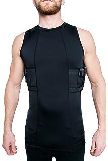 Black dress vest holster