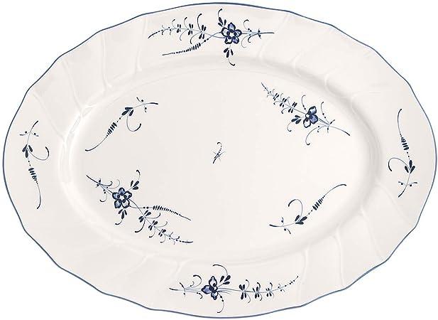 Villeroy e Boch piatto portata ovale porcellana bianca