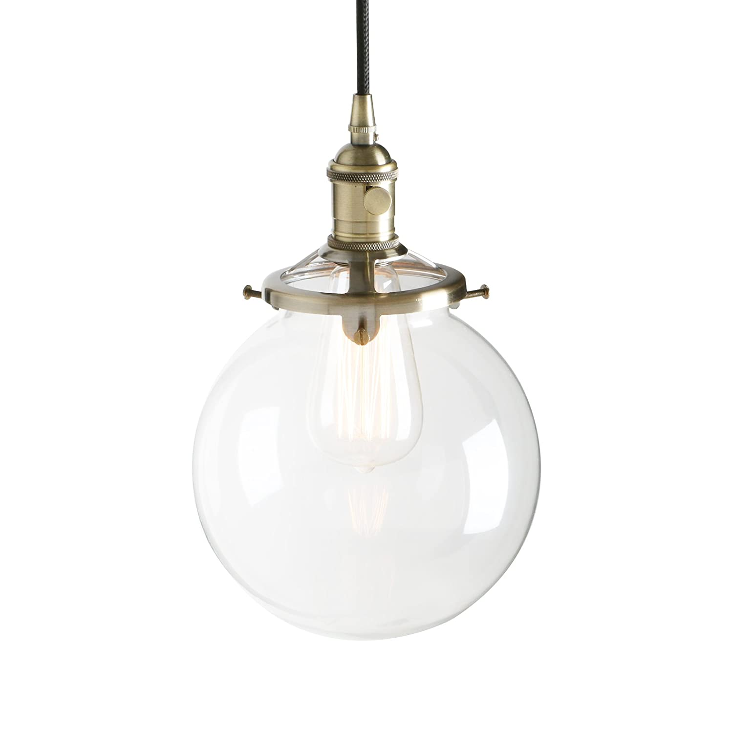 Pathson Industrial Modern Vintage Edison Hanging Light Fitting Pendant Ceiling