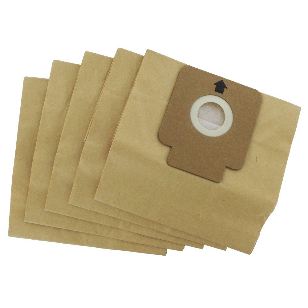 Confezione da 5 sacchetti di carta Europart, compatibili con modelli Hoover Freespace e Flash Maddocks 46-VB-295