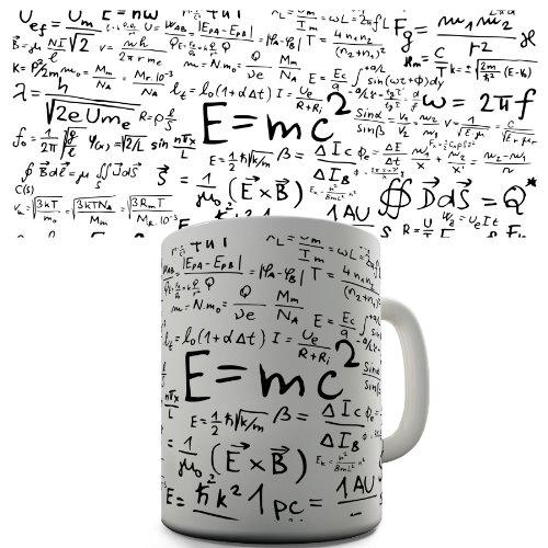 Math Formulas Funny Mug