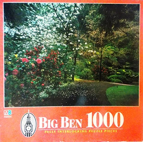 Big Ben Trail of Flowers, Portland, OR 1000 Jigsaw Puzzle Pieces