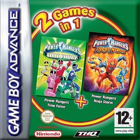 Power Rangers: Ninja Storm/Time Force [Double Pack]: Amazon ...