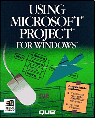 Book Using Microsoft Project 3 for Windows