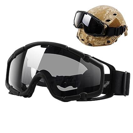 Amazon.com: Casco con goggles TB-FMA, goggles antiniebla ...