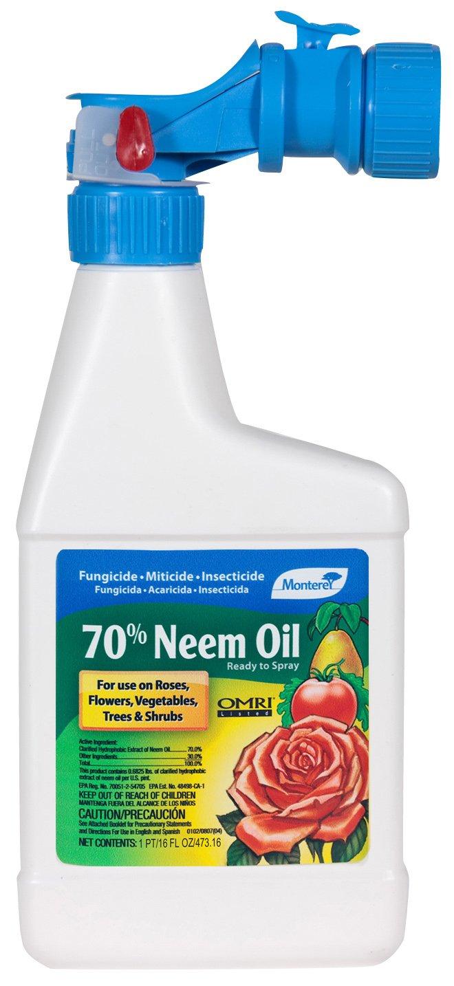 Amazon Monterey 70 Neem Oil Ready To Spray 16oz Insect