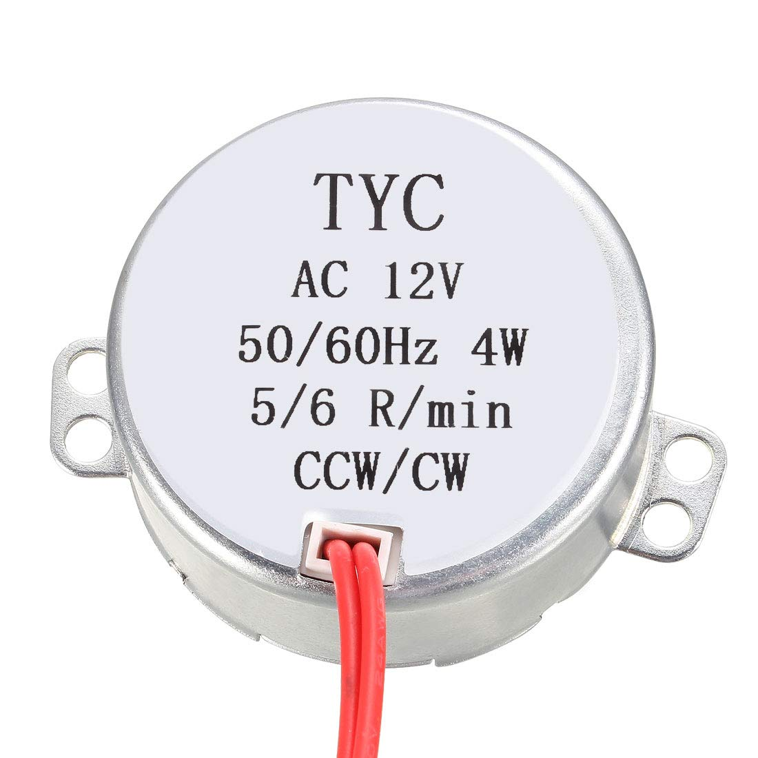 Turntable Motor AC 12V 50-60Hz CCW//CW 4W 30-36RPM uxcell Electric Synchronous Synchron Motor