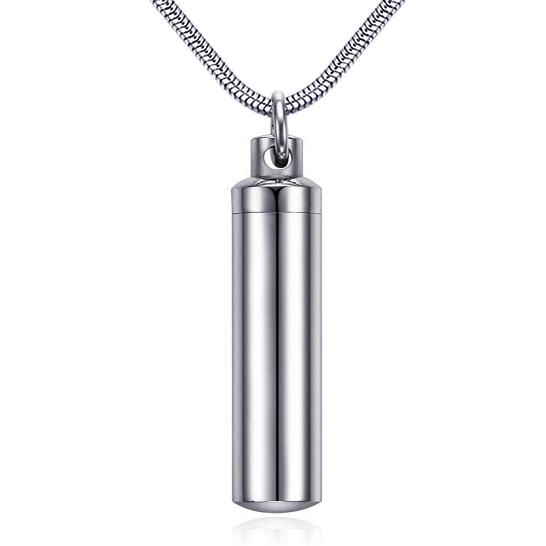 Urne Ketten für Asche Family Tree blau Geburtsstein CZ Verbrennung Jewelry Asche Andenken Anhänger Halskette JHN20