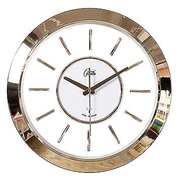 Amazon.de: Unbekannt Wanduhr Transparente Europäische Uhr Wanduhr ...