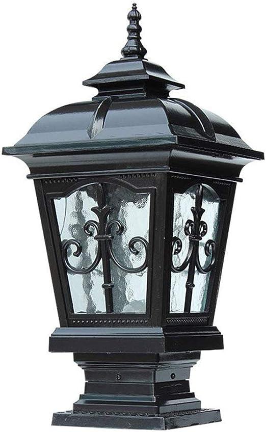 LED-BEAU Lámpara de Columna Pilar Exterior Corredor de la Calle ...