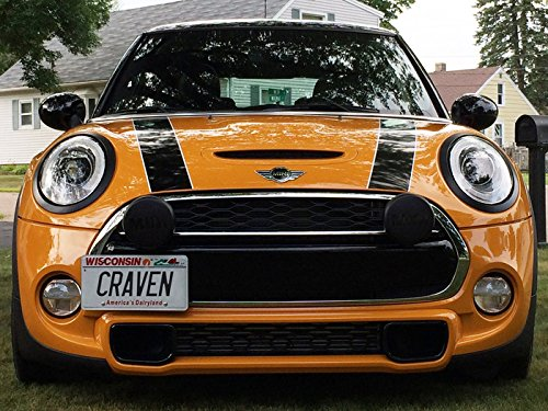 CravenSpeed The Platypus License Plate Mount for Mini Cooper (F56) 2014-2019 | No Drilling | Installs in Seconds | Made of Stainless Steel & Aluminum | Made in USA by CravenSpeed (Image #6)