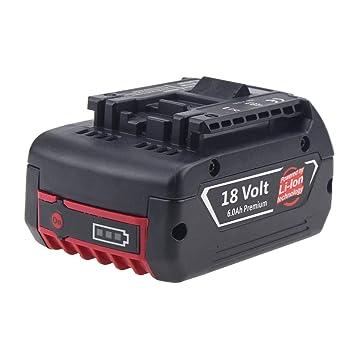 Forrat 18V 5.5Ah Litio Bateria Taladro para Bosch BAT609 BAT609G BAT618 BAT618G BAT619 BAT619G Batería
