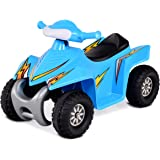Costzon Kids Ride On Quad, 6V Battery Power Electric Car Vehicle, 4 Wheel Power Bicycle Toddlers Light