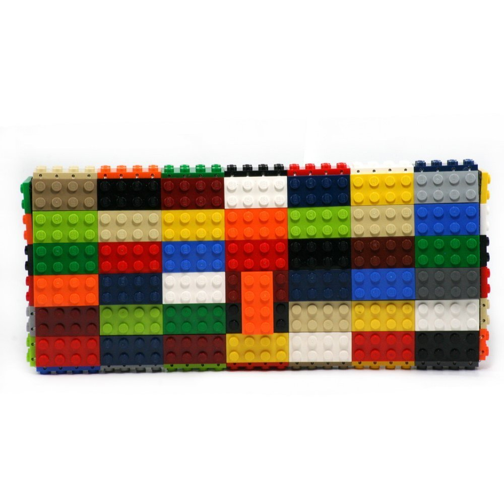Multicolor clutch made with LEGO® bricks