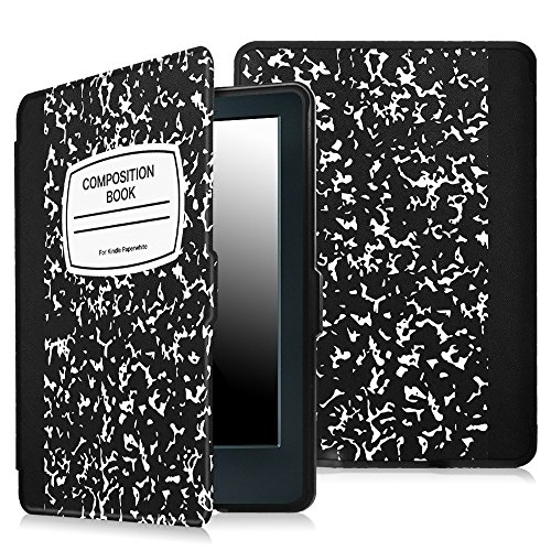 Fintie Case for All-New Kindle E-reader (8th Gen 2016) - The Thinnest and Lightest Slim Shell Cover Auto Wake/Sleep for Amazon All-New Kindle (6