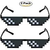 Elite Deal With It Glasses Thug Life Unisex Sunglasses 8 Bit Pixel