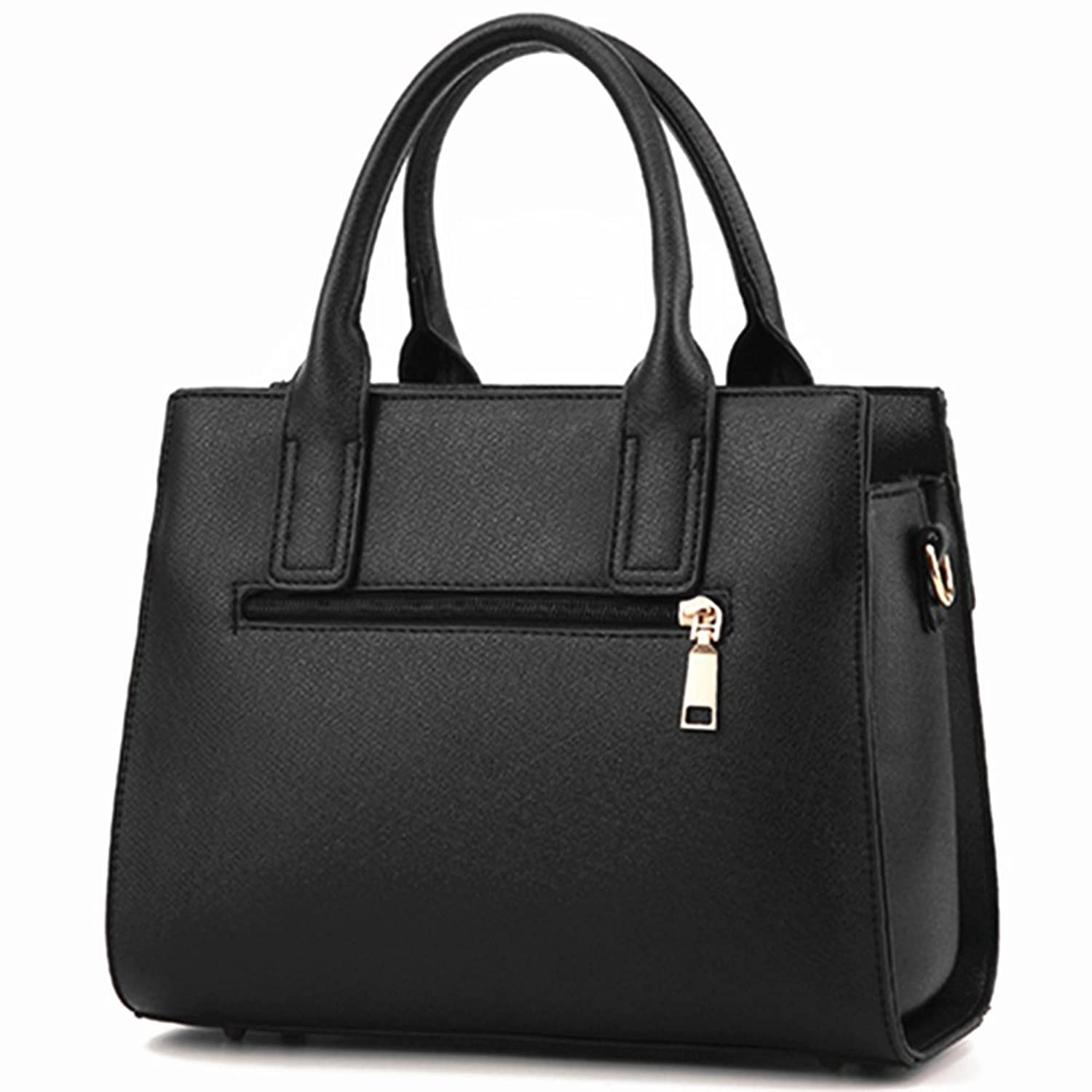 Annsin Women's HR Two-Way PU Leather Handbag and Tote Shoulder Bag