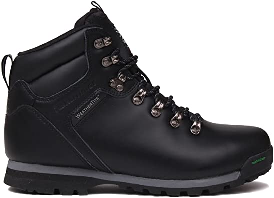 Womens Hiking Boots Size 5 Walking Waterproof Leather Lace Up KARRIMOR Brand New