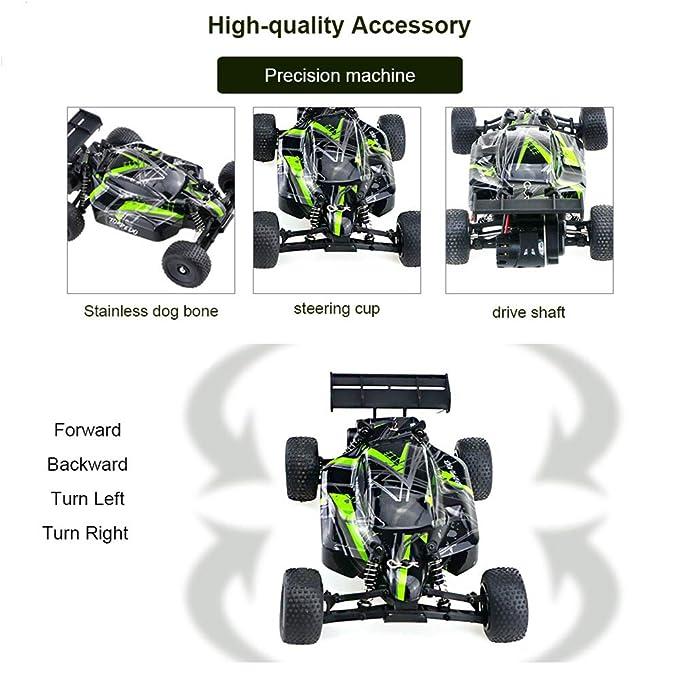 LSQR Coche Todo Terreno De Control Remoto 1/32 20 Km/H Función De Velocidad Variable Continua De Escala Completa Servo RC Cars Profesional: Amazon.es: ...