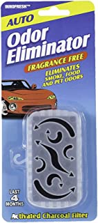 product image for Innofresh Auto Odor Eliminator – Air Freshener, Deodorizer, Purifier for Cars, RV and Boats. Natural and Unscented Activated Charcoal Filter Lasts up to 4-Months. 3-Pack