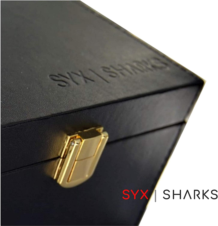 SyxSharks Autoschl/üssel Signal Blocker Diebstahlschutz Faraday-K/äfig inklusive RFID-Blockierkarte zum Schutz kontaktloser Karten sch/ützt schl/üssellose Autoschl/üssel vor Relaisangangriffen
