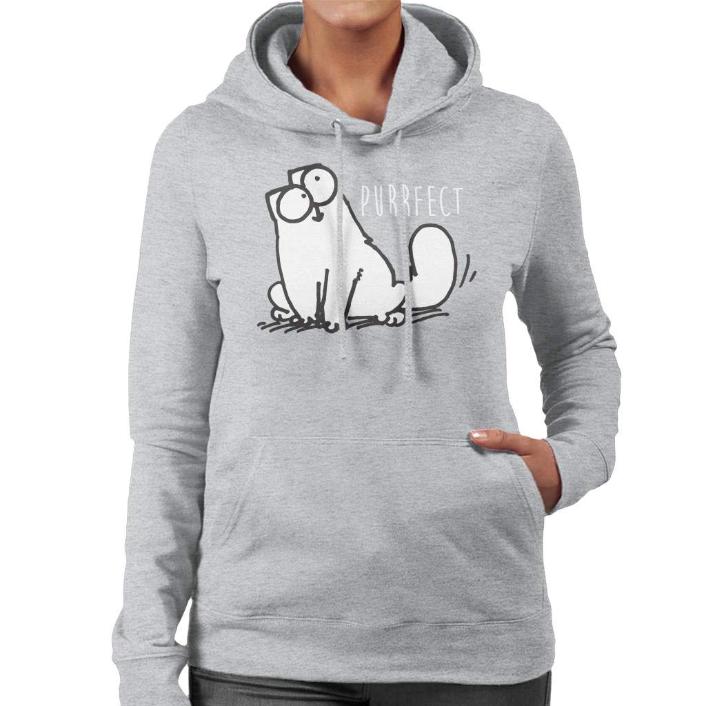 Simon's Cat Purrfect Women's Hooded Sweatshirt