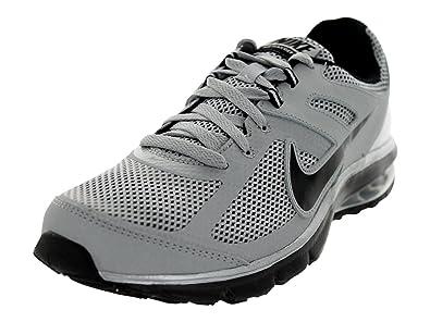 630e39594cb Nike The Mens Air Max Deft Run Running Shoe Metallic Silver Black Black Size