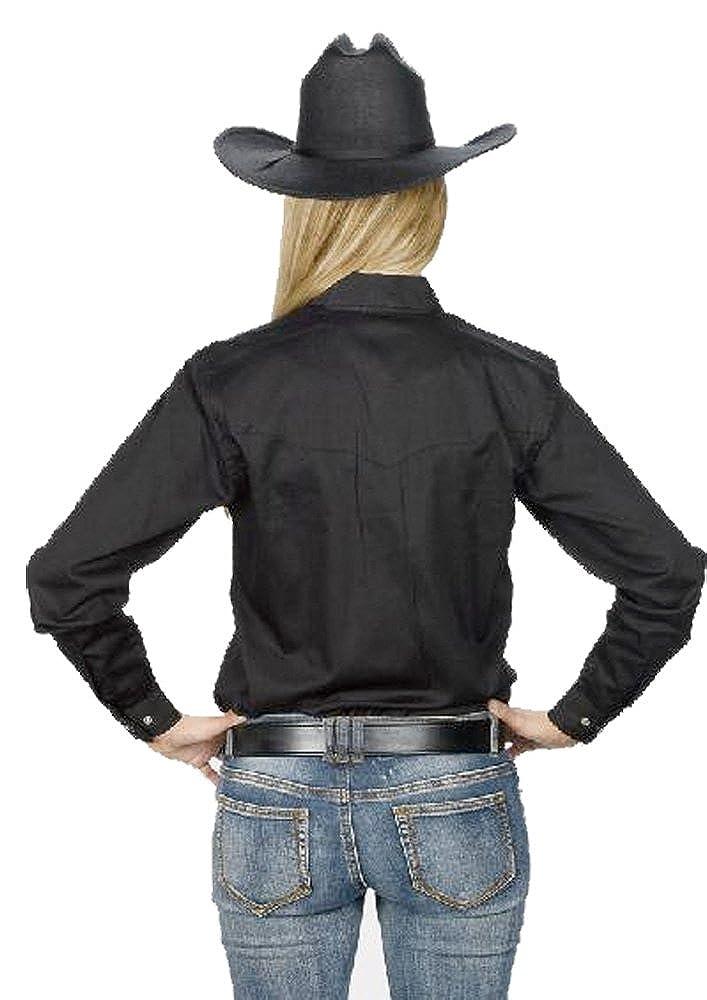 9f7d4c8a Sunrise Outlet Women's Button Down Cotton Western Cowboy Shirt
