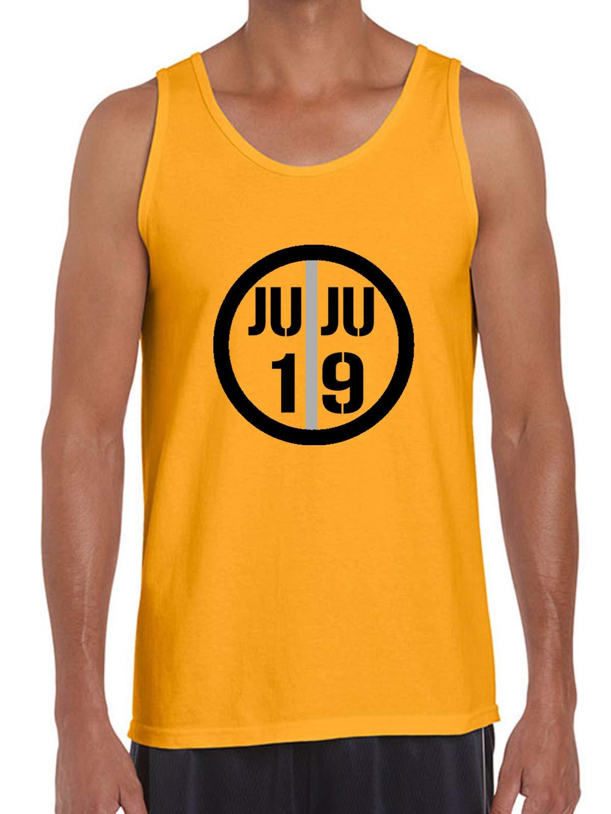Gold Pittsburgh Juju Ju Ju Logo Tank Top Shirts