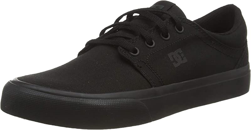 DC Shoes Trase TX Sneakers Herren Komplett Schwarz