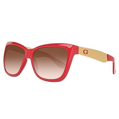 Guess Damen Sonnenbrille GU7371-57P07, Rot (Rojo), 57