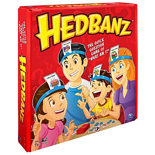 HedBanz Game, Family Guessing Game - Edition may vary -