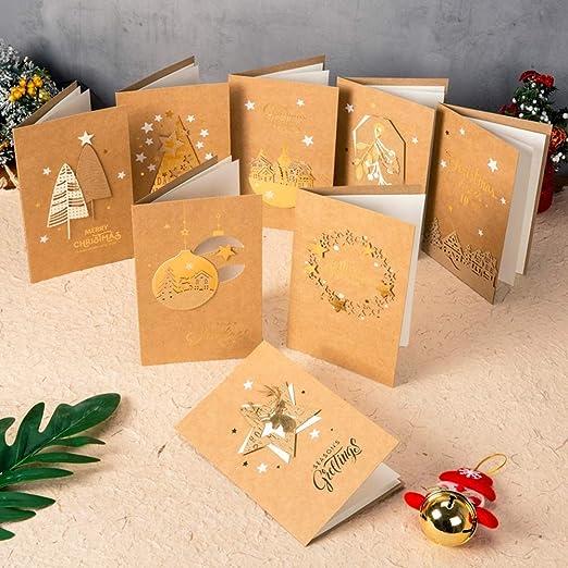 Sdhs-Christmas supplies Tarjeta De Navidad, Creativa Linda ...