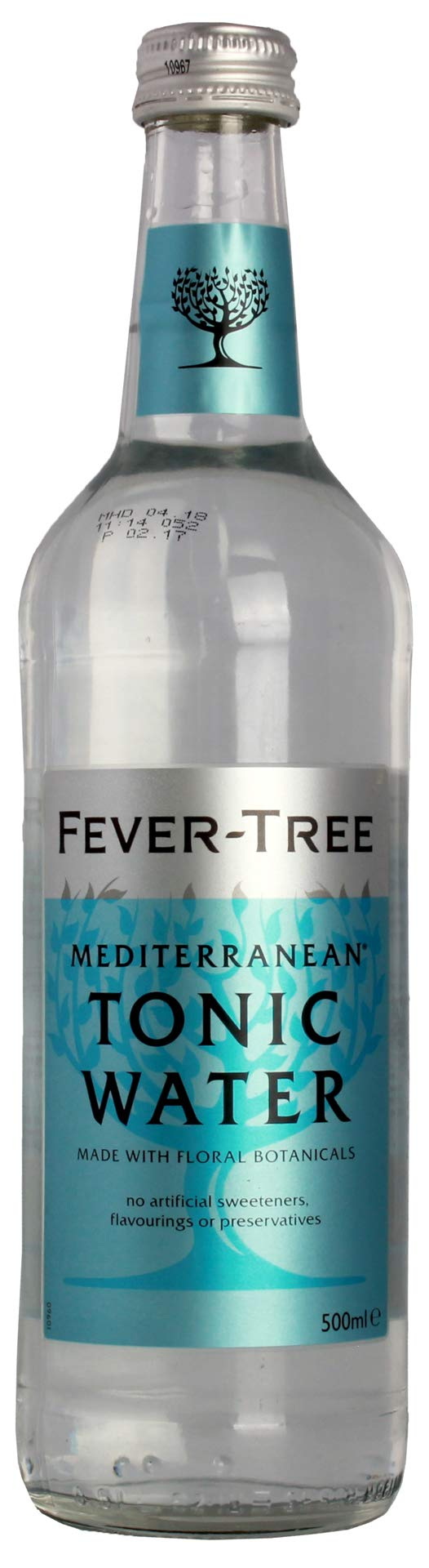 Fever-Tree Mediterranean Tonic Water 500ml (Pack of 6) by Fever-Tree