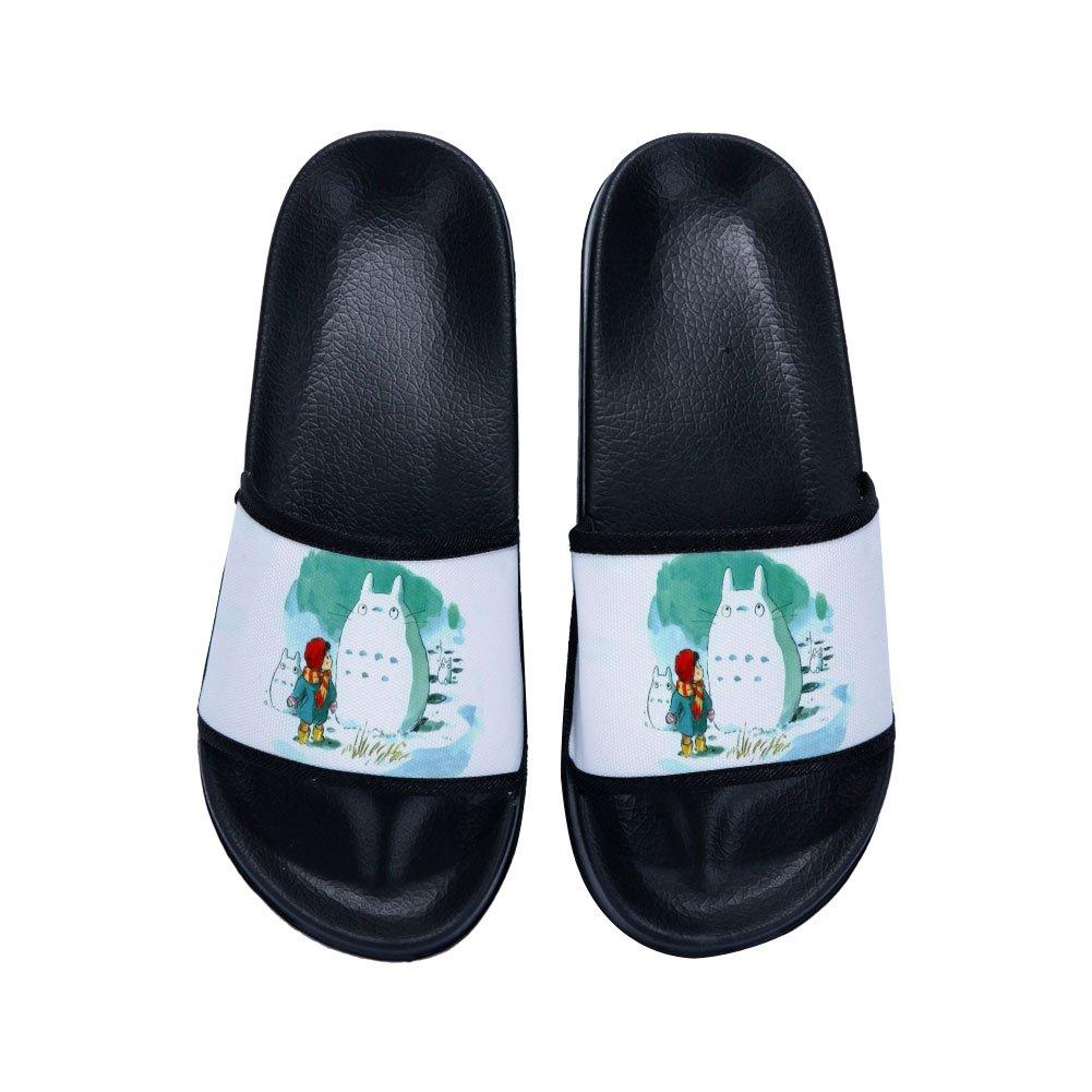 Ron Kite Boys Girls Indoor Floor Slipper Stylish Beach Sandals Open-toe Slipper Home Slippers