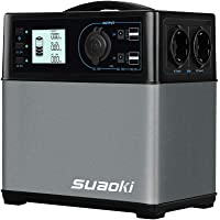 SUAOKI - 400Wh/120,000mAh Generador Portátil Solar, Cargador