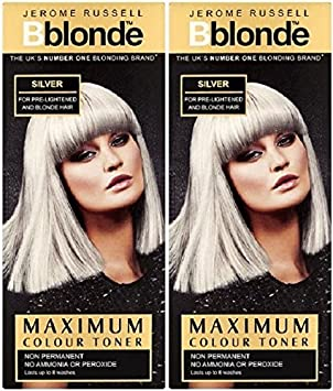 Jerome Russell BBlonde Maximum Colour Toner Silver (2 PACK