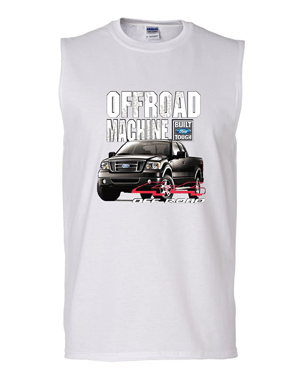 Licensed Ford F-150 Muscle Shirt Offroad Machine Built Ford Tough