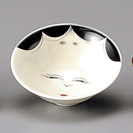 Amazon com | Liquor ware Sake Cup Okame Sakazuki size [ 7 8 x 3 2cm