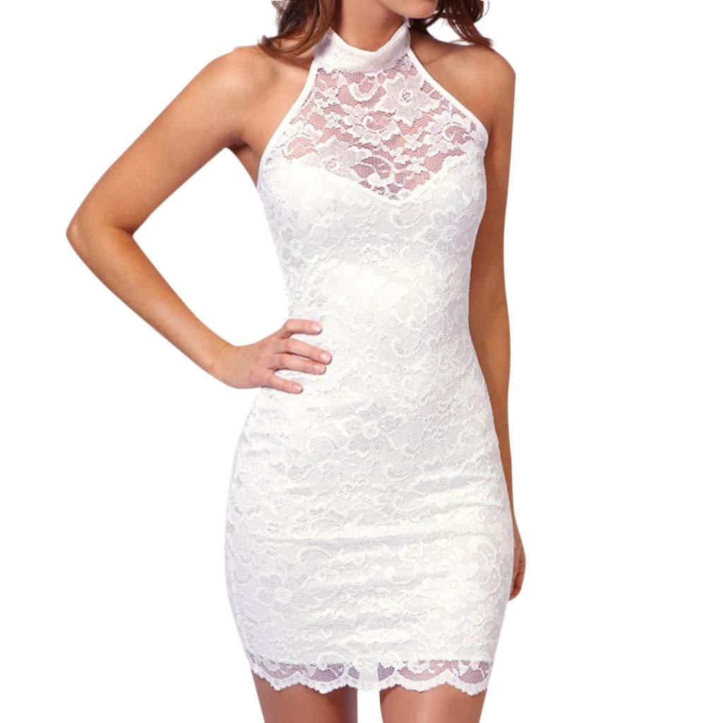 5167da873 Vectry Vestidos Encaje Mujer Vestidos Mujer Vestidos Espalda Descubierta  Vestido Hombros Descubiertos Vestidos Casuales Vestidos Boda ...