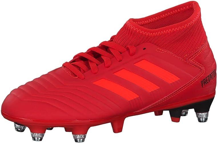 adidas Predator 19.3 SG J, Chaussures de Football garçon