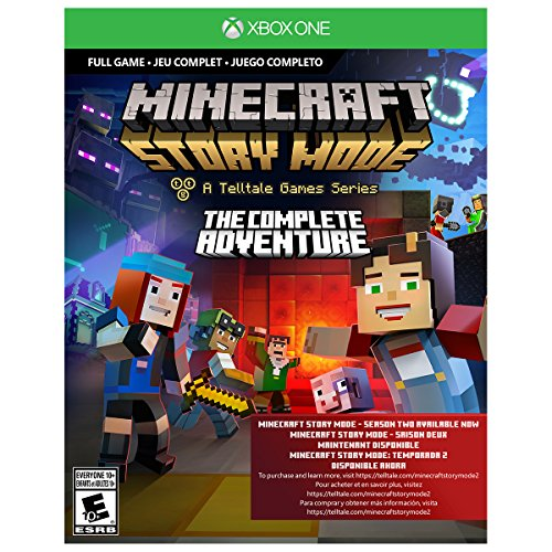 Xbox One S 500GB Console - Minecraft Complete Adventure Bundle